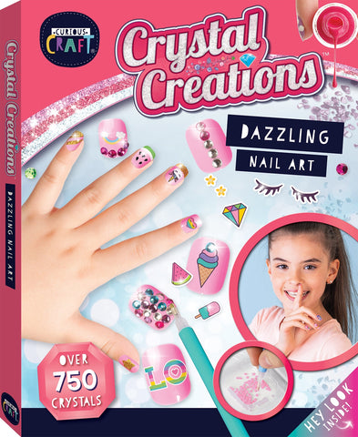 Crystal Creations - Dazzling Nail Art