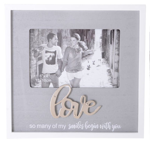 Sentiments Photo Frame - Love