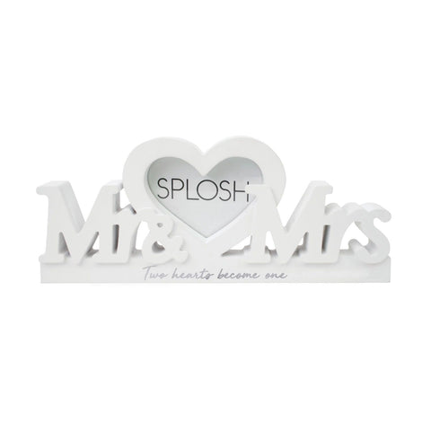 Mr & Mrs Photo Frame