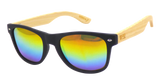 Moana Rd Sunnies: 50/50 Rainbow Reflective