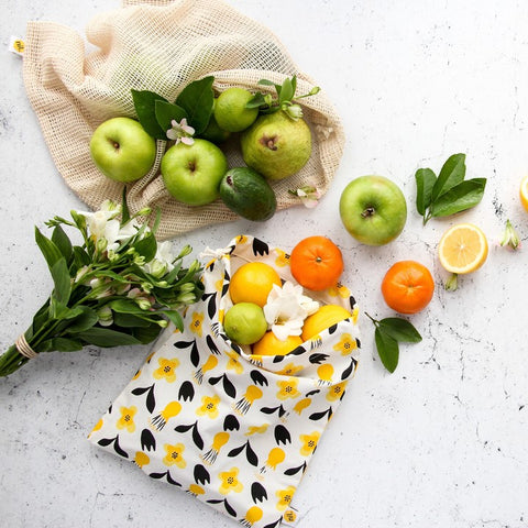 nil Organic Reusable Produce Bags