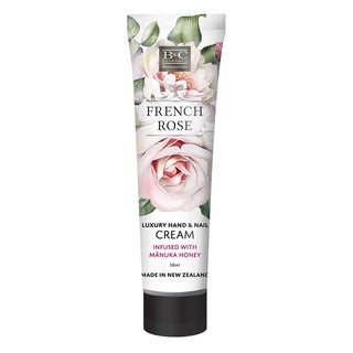Banks & Co: French Rose Hand & Nail Cream