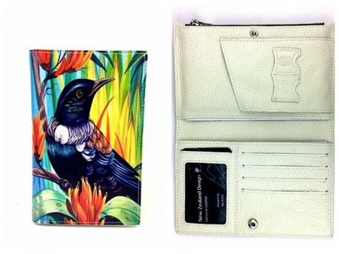 Native Bird Tui Travel Wallet