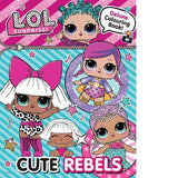 LOL Surprise Cute Rebels Deluxe Colouring Book
