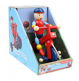 Trikey Tom Pull Along Wooden Toy