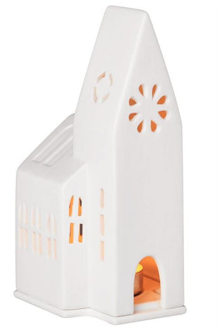 Church Porcelain Tealight House