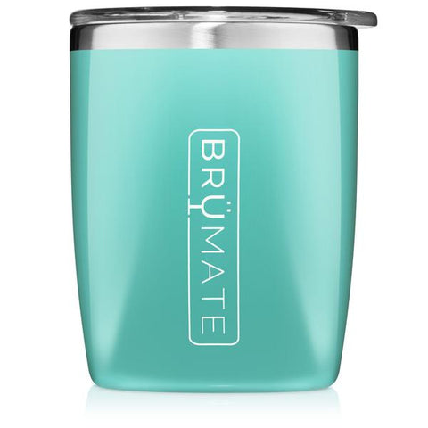 BruMate Rocks Glass Aqua