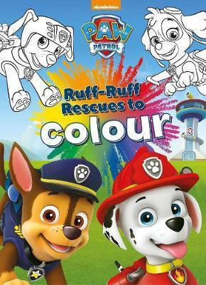 Paw Patrol Ruff Ruff Rescues to Colour