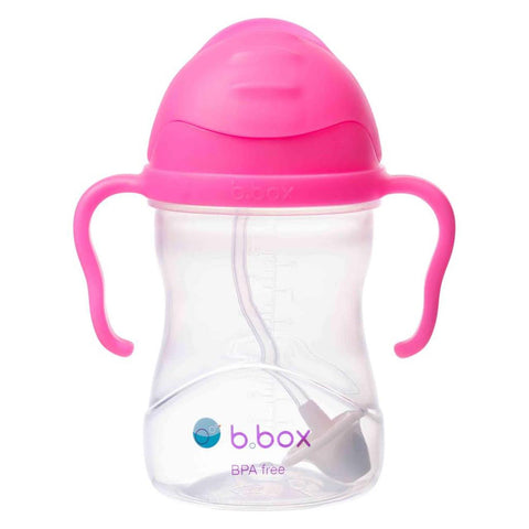 B.Box Sippy Cup Neon Pink Pomegranate