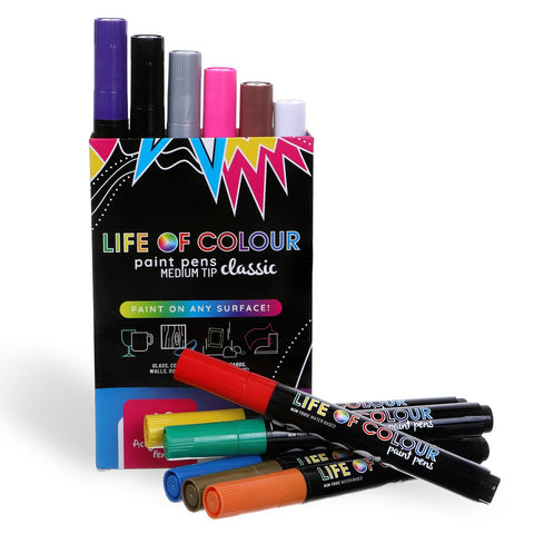 Life of Colour Paint Pens - Classic