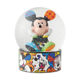 Britto Mickey Mouse Waterball Globe