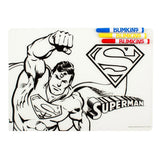 DC Comics Colouring Placemat Superman