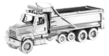 Metal Earth - Freightliner Dump Truck