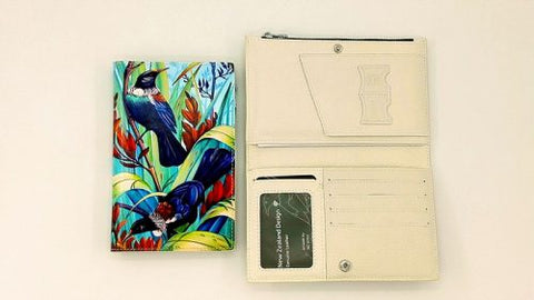 Native Bird Onemana Beach Travel Wallet