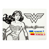 DC Comics Colouring Placemat Wonder Woman