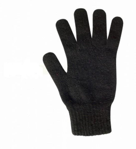 Possum Merino Gloves Black Small