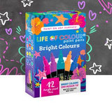 Life of Colour Paint Pens - Brights 3mm Medium Tip