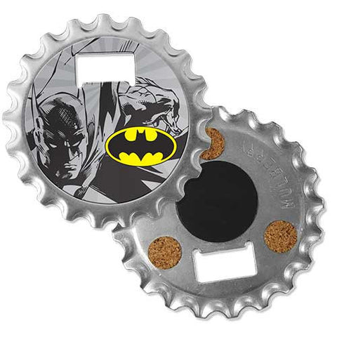 Batman Bottle Opener Magnet Coaster