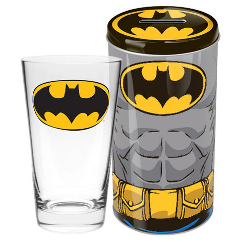 Batman Glass in Tin