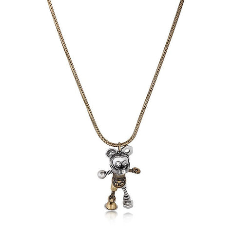 Disney Mickey Mouse Junk Yard Necklace