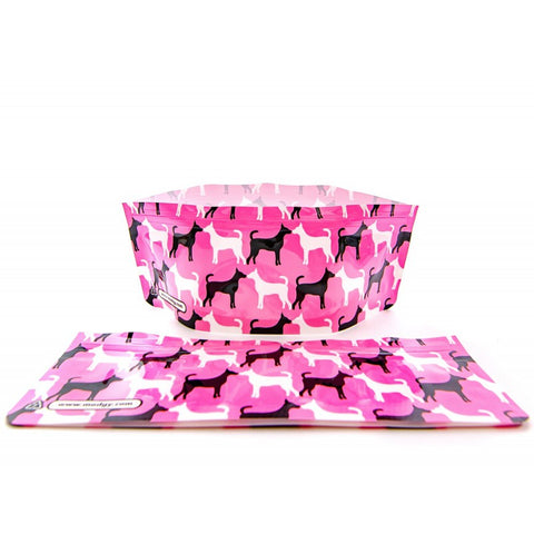 Dog Bowl - Pinky
