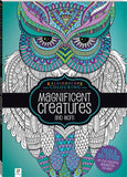 Adult Colouring - Kaleidoscope Magnificent Creatures