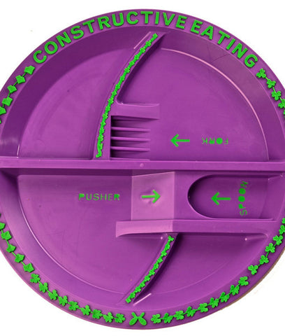 Constructive Eating – Garden Fairy Plate