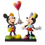 Britto: Disney - Mickey & Minnie with Balloon Limited Edition