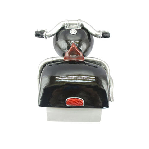 Motorbike Toilet Roll Holder