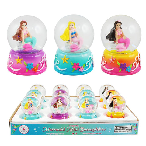 Mermaid Mini Snow Globe