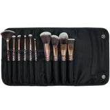 Simply Essential 10pc Full Face Brush Set - Rose Gold
