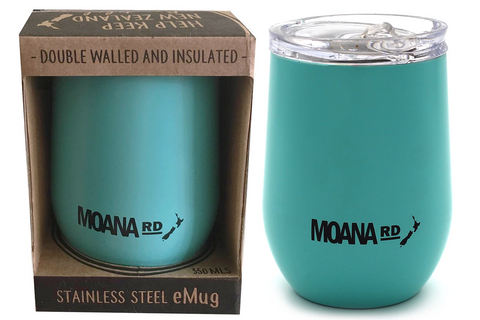 Moana Rd - eMug - Reusable Mug Mint