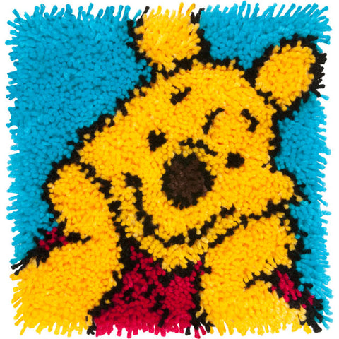 "Pooh Latch Hook Kit (12""x12"")"