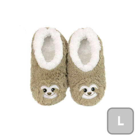 Slumbies Sloth Furry Foot Pals Large