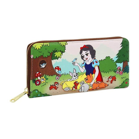 Loungefly - Snow White and the Seven Dwarfs - Multiscene Zip Wallet