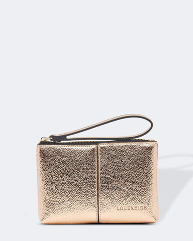 Louenhide Rio Rose Gold Clutch