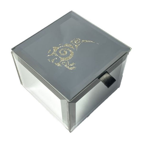 Bling Mini Trinket Box Kiwi