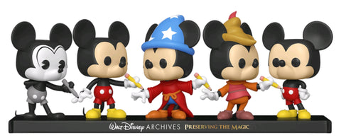 Disney - Mickey Mouse Pop! Vinyl 5-Pack