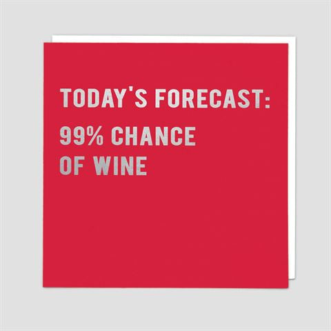 Gift Card: Today's Forecast