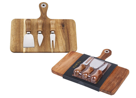 Fromagerie Rectangle 4pc Cheese Set