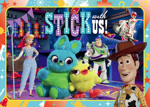 Toy Story 4 - Stick With Us 35 Piece Puzzle Frame Tray