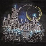 Diamond Dotz - Harry Potter - Moon Over Hogwarts