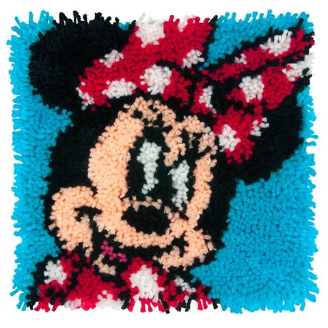 "Minnie Mouse Latch Hook Kit (12""x12"")"