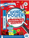 Inkredibles: Word Power Invisible Ink Activity Book