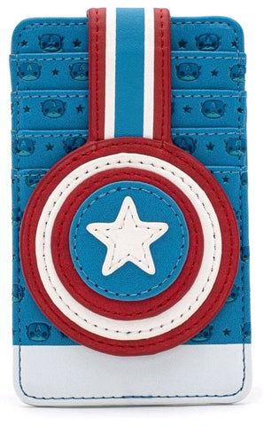 Loungefly:  Captain America Card Holder
