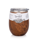BruMate Wine Glass Walnut