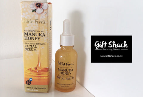 Wild Ferns Manuka Honey Facial Serum