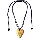 Zsiska Heart Necklace Gold - Large