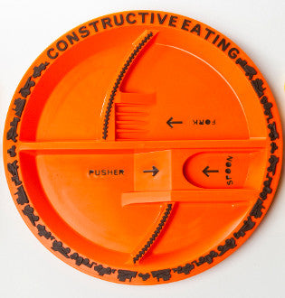 Constructive Eating – Construction Plate