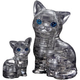 Crystal Puzzle Cat & Kitten